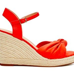 Witchery Size 39 Red Wedges BNWT RRP $120.00
